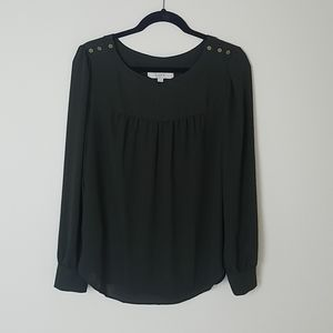 Ann Taylor LOFT Long Sleeved Blouse Size M